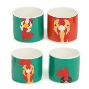 Burgon & Ball - Hen Egg Cups - 4 piece set