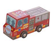 Crocodile Creek - Fire Truck Vehicle Puzzle 48pce