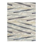 Harlequin -Large Diffinity Oyster Handtufted Pure Wool Rug