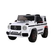 Kids Play - Benz Kids Ride On Car Electric AMG G63 White