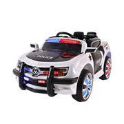 Kids Play - Kids Ride On Police Car Black & White