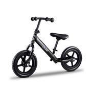 Kids Play - Kids Balance Bike Ride On Toys Bikes Black 40cm