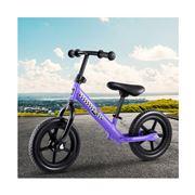 Kids Play - Kids Balance Bike Ride On Bicycle Purple 40cm
