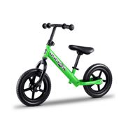 Kids Play - Kids Balance Bike Ride On Toys Bikes Green 40cm