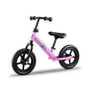 Kids Play - Kids Balance Bike Ride On Toys Bikes Pink 40cm