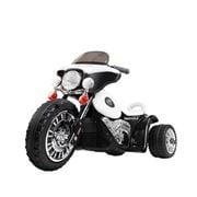 Kids Play - Kids Ride On Motorbike Motorcycle Black White
