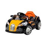 Kids Play - Kids Ride On Car Black & Orange