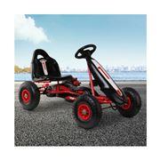 Kids Play - Kids Pedal Go Kart Car  Racing Bike F1C Red
