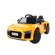 Kids Play - Kids Ride On Audi R8 Yellow