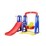 Kids Play - Kids 3-in-1 Slide Swing with Basketball Hoop