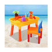 Kids Play - Kids Table & Chair Sandpit Set