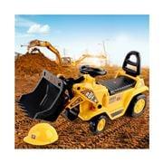 Kids Play - Kids Ride On Bulldozer Yellow