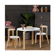 Hollywood Vanity - Nordic Kids Table Chair Set 3PC