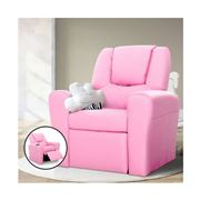 Kids Play - Kids Recliner Chair Pink PU Leather Sofa