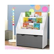 Kids Play - Kids Bookshelf  Organiser White