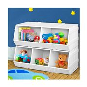 Kids Play - Kids Stackable box Bookshelf Storage Organiser