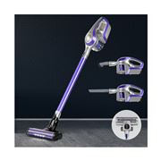Devanti - Cordless 150W Handstick Vacuum Cleaner Purple/Grey