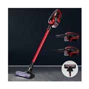 Devanti - Cordless 150W Handstick Vacuum Cleaner Red/Black