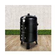Fotya - 3-in-1 Charcoal BBQ SmokerBlack