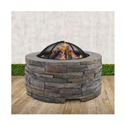 Fotya - Fire Pit Outdoor Table Charcoal