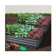 Enchanted Garden - Garden Bed 2pc 150x90x30cm Raised Planter