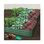 Enchanted Garden - Garden Bed Raised Green Planter set 2pce