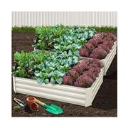 Enchanted Garden - Raised Garden Bed Cream 150cmx90cm 2pce