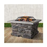 Fotya - Stone Base Outdoor Patio Heater Fire
