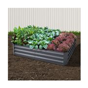 Enchanted Garden - Garden Bed Aluminium Grey 150x90cm