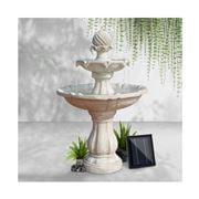 Enchanted Garden - Gardeon 3 Tier Solar Water FountainIvory