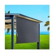 CoolShade - Instahut 1.8m x 2.5m Roll Down Grey