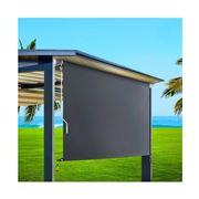 CoolShade - Instahut 2.1m x 2.5m Roll Down Grey