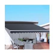 CoolShade - Instahut 4.5M x 2.5M Outdoor Folding Grey