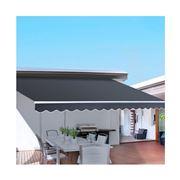 CoolShade - Instahut 4.5M x 3M Outdoor Folding Arm Grey