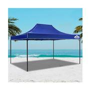 CoolShade - Instahut Gazebo 3x4.5m Outdoor Tent Blue