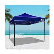 CoolShade - Instahut Gazebo Outdoor Tent Blue 3x3m