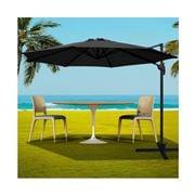 CoolShade - Instahut Roma Outdoor UmbrellaBlack