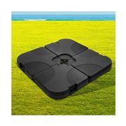 CoolShade - Instahut Set of 4 Umbrella Base Set Black