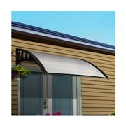 CoolShade - Instahut Window Door Sun Shield WHITE DIY