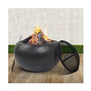 Fotya - Outdoor Fire Pit Bowl Wood Fireplace