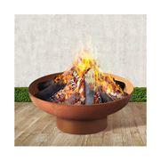 Fotya - Rustic Fire Pit Camping Wood Burner 70cm