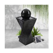 Enchanted Garden - Solar Powered Water Fountain Twist Design