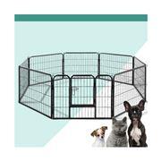 Pawfection - i.Pet 8 Panel Pet Dog Play Pen 80x60cm