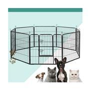 Pawfection - i.Pet 8 Panel Pet Dog Play pen 80x80cm