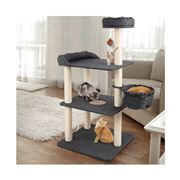 Pawfection - i.Pet Cat Tree 132cm Tower Condo House Wood