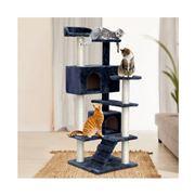 Pawfection - i.Pet Cat Tree 134cm Tower Condo House Grey