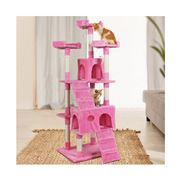 Pawfection - i.Pet Cat Tree Tower Condo House Pink 141cm
