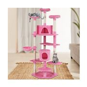 Pawfection - i.Pet Cat Tree Trees Scratching Pink 203cm