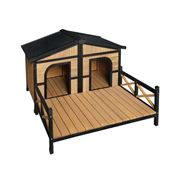 Pawfection - i.Pet Extra Extra Large Wooden Pet Kennel
