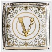 Rosenthal - Versace Virtus Gala Flat Square Dish White 12cm